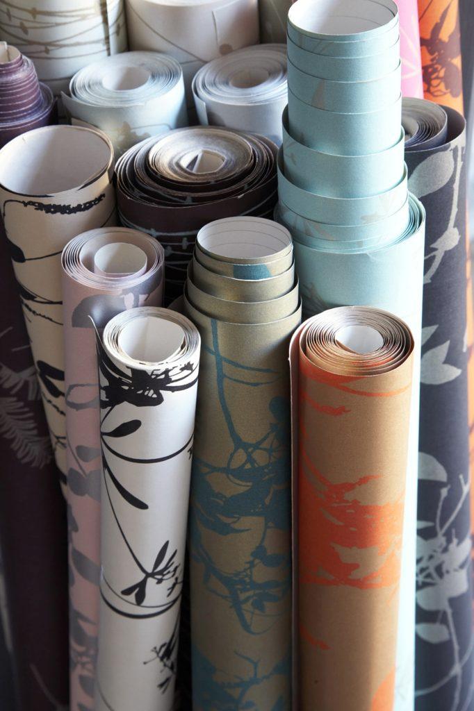 rouleaux de papier peint installation paris