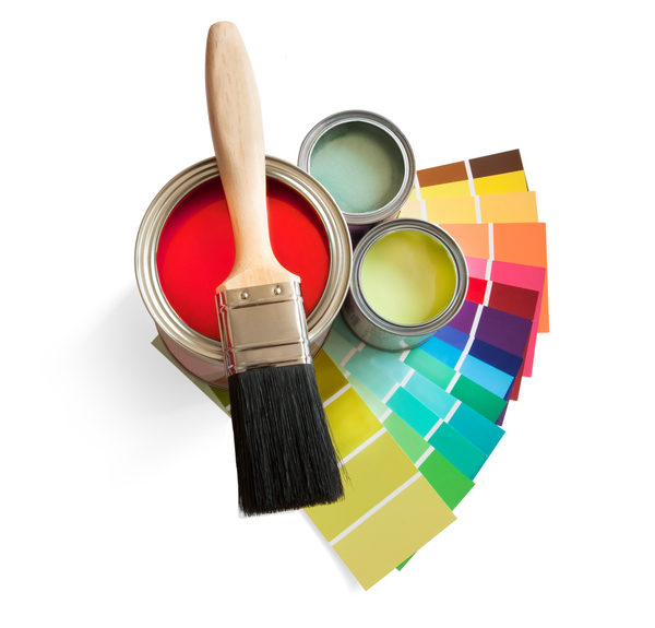 entreprise de peinture multicouleur artisan